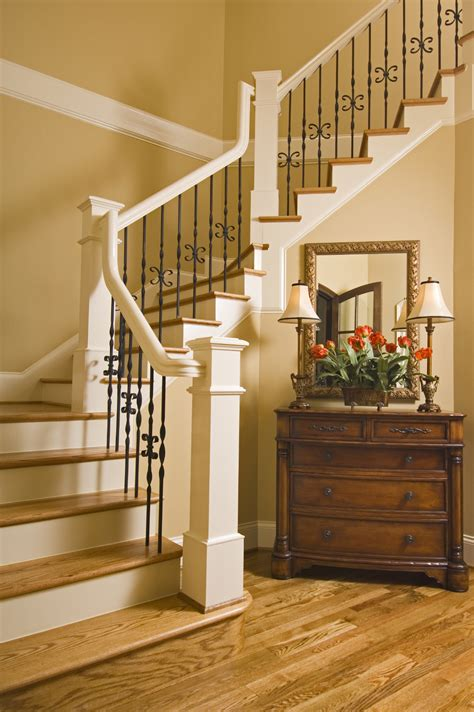 Ideas For Painting Stair Banisters 46 Beautiful Entrance Hall Designs And Ideas Pictures