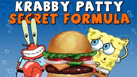 spongebob secret krabby patty secret formula www pixshark images