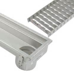 industrial linear channel drain 3000mm for concrete floor