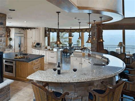 Curved Kitchen Island Designs Wall Curved Island Counter White Wooden Kitchen Counter Fancy Black Steel Hanging