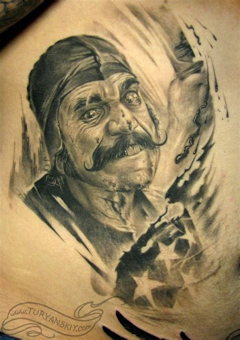 butcher tattoo bill the butcher by oleg turyanskiy tattoonow