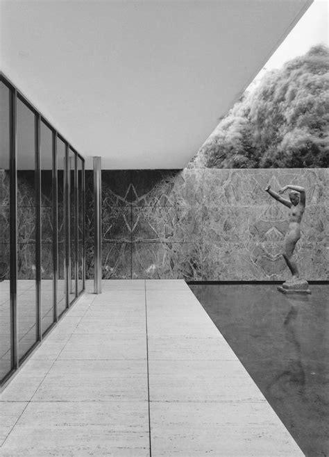 deutscher pavillon barcelona die treue zum gegenstand bda der architekt