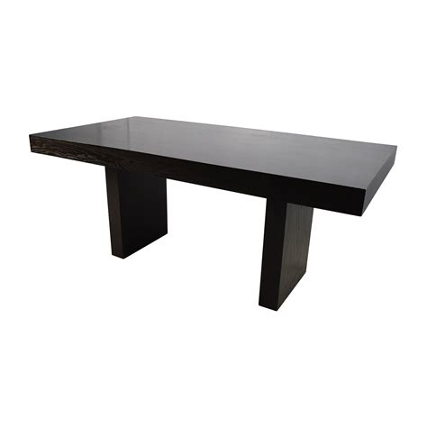 west elm terra bench 76 off west elm west elm terra dining table tables