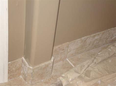 wood baseboard on tile floor tile baseboards home decor pinterest home design