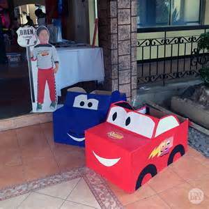 bren disney cars 7th birthday party diy