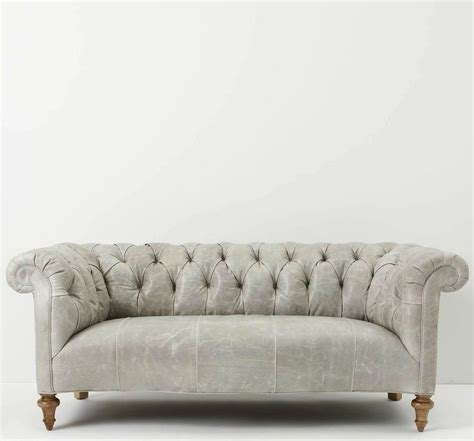 Gray Leather Chesterfield Sofa 52 Best Images About Flat On Sectional Sofas Grey And Ottomans