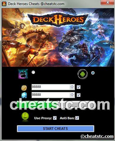 tutorial hack deck heroes deck heroes cheats cheats tools center