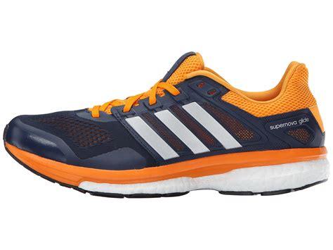 Adidas Running Warna Navy adidas running supernova glide 8 collegiate navy matte silver eqt orange zappos free