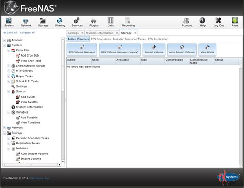 top menu bar the ars nas distribution shootout freenas vs nas4free