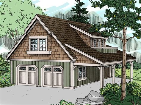 Carriage House Plans Craftsman Style Carriage House Plan With 2 Car Garage Design