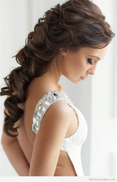 wedding hairstyles one shoulder hairstyles for one shoulder dress hairstyle 2013