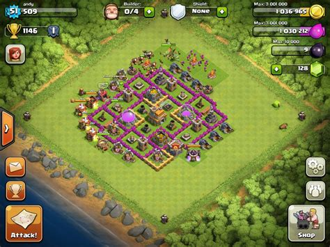 coc town hall 7 top 10 clash of clans town hall level 7 defense base design