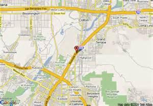 inn express california locations map map of inn express colton colton