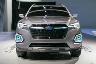 Subaru Suv Subaru Viziv 7 Suv Concept Look Review