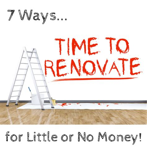 how to renovate a house with no money 7 ways to renovate a room for to no money
