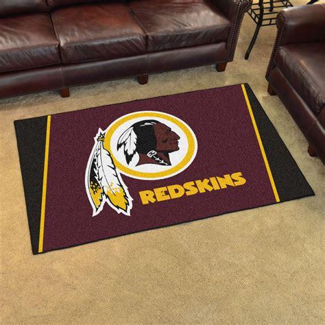 Redskins Area Rug Fan Mats 6613 Nfl Washington Redskins 4 X 6 Area Rug