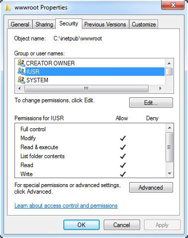 Article How To Set Up An Internet Service Provider Business | how to set up folder permissions in internet information