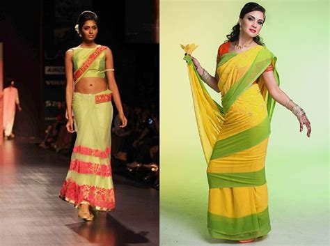 mumtaz style saree draping 6 ways to wear saree and ace the indian traditional look