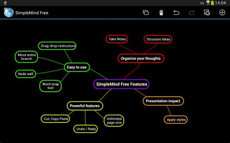 a comparison of mind mapping apps for the simplemind free mind mapping android reviews at android