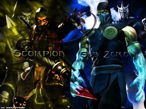 imagenes de scorpion vs sub zero chancho games scorpion and sub zero 2 personagens