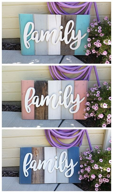 do it yourself home decor crafts new old distressed barn wood word indoor outdoor