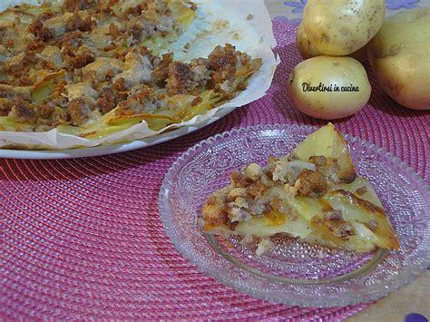 cucina semplice e gustosa torta di patate e salsicce semplice e gustosa divertirsi