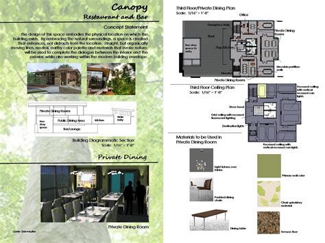 design board application senior redesign project canopy restaurant and bar by leah