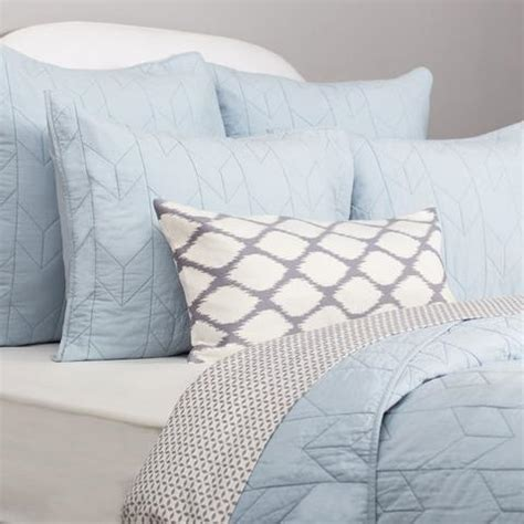 Pale Blue Quilt by Light Blue Cotton Quilt And Sham Crane Canopy