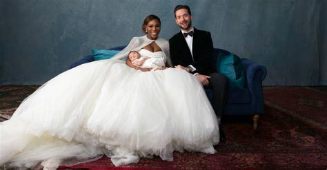 Wedding Pics by Serena Williams And Ohanian Wedding Photos