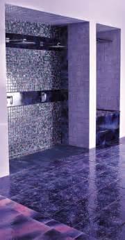 Purple bathrooms by franco pecchioli ceramica8