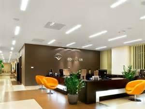 led built in l for false ceiling ecophon line led by