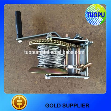 boat winch spring oem boat anchor hand winch trailer brake winch metal hand