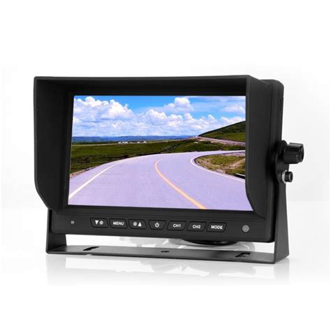Monitor 7 Inch 7 inch rear view monitor stand alone screen vardsafe vs709