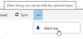 menu untuk mengatur layout dokumen adalah mendapatkan pemberitahuan saat file atau folder yang
