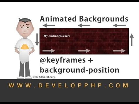 css keyframes tutorial smooth auto scroll animation tutorial javascript html css