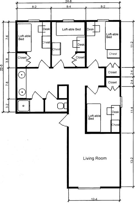 room blueprint gillespie residence