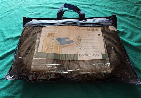 cuscino ortopedico per recensione bonmedico 174 cuscino ortopedico in memory foam