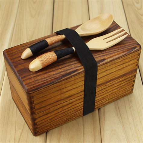 Top Seller Lunch Box Kotak Makan Bento Box Tempat Makan Sekat 4 aliexpress buy lunch box japanese traditional wooden square layer s