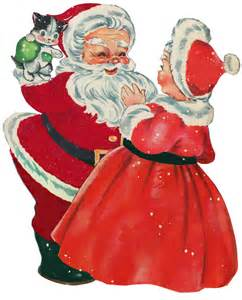 santa mrs claus mr and mrs claus pinterest