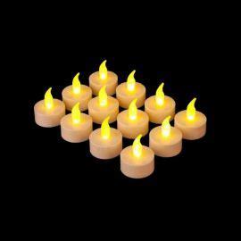 candele con led candele natalizie decorate per composizioni e addobbi