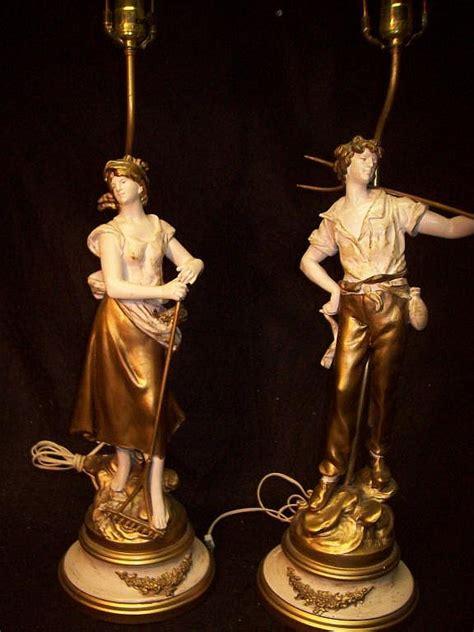 Figural L by Pair Of L F Moreau Figural Ls