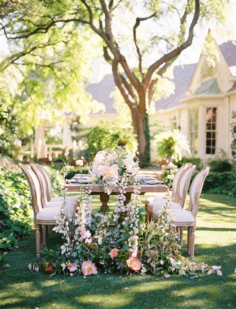 elegant garden party wedding inspiration green wedding shoes