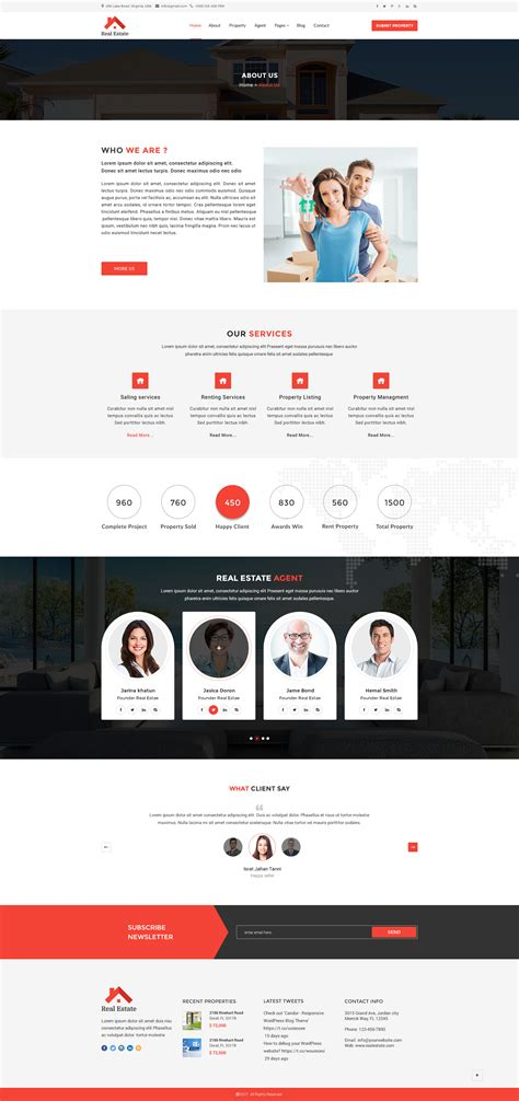 themeforest html5 real estate html5 template by asianweb themeforest