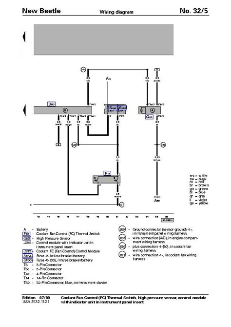 2000 vw beetle blower wiring diagram engine auto parts