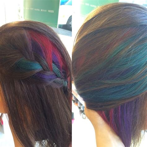 color blocking hair 1000 ideas about color block hair on colored