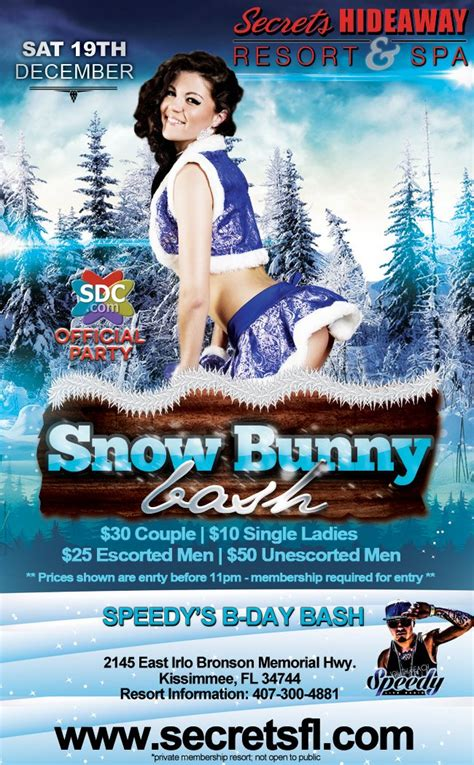 florida swing party events snow bunny bash orlando florida lifestyle and
