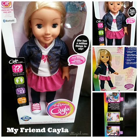 my friend cayla talking doll my friend cayla gift guide sponsored the
