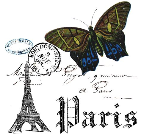 printable paris pictures paris and butterfly collage free printable the cottage