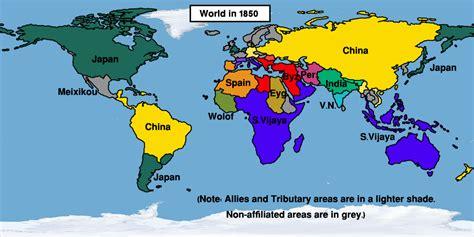 timeline  easternized world alternative history