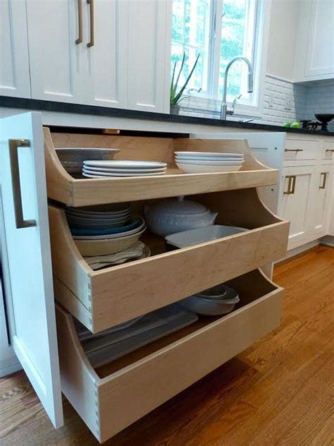 roll out drawers for kitchen cabinets 25 best ideas about kitchen drawers on